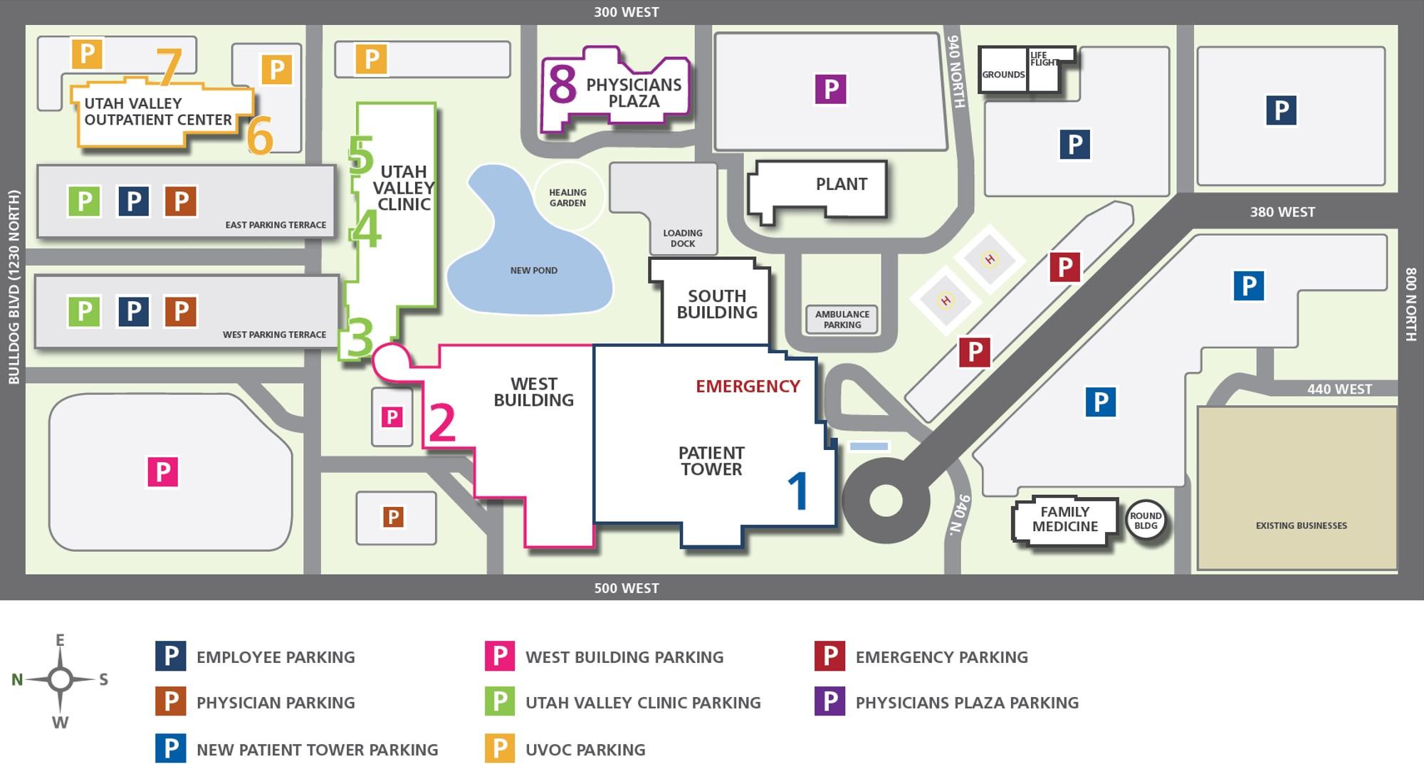 Va Hospital Utah Map.Utah Valley Hospital Encourages Its Employees To Embrace Two Wheels
